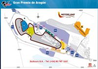 Map Circuit Motorland Aragon
